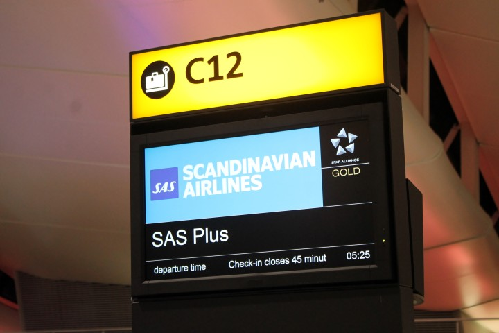 SAS har flyttat in i Terminal 2, Star Alliance nya hem på London Heathrow flygplats