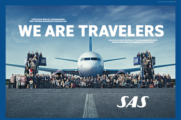 SAS We Are Travelers
