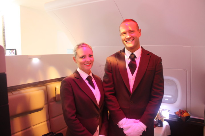 Etihad The Residence Butlers during the launch