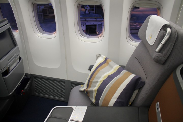 Lufthansa Business Class Washington-Frankfurt