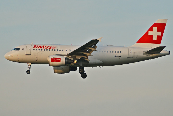 Swiss Airbus A319
