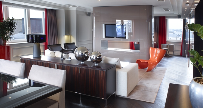 Hilton Brussels Grand Place Presidential Suite