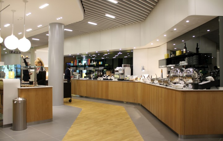 Lufthansa Senator Lounge, London Heathrow, Terminal 2