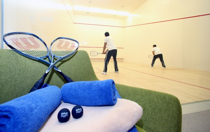 Vitality SPA Doha Airport - Squash Court