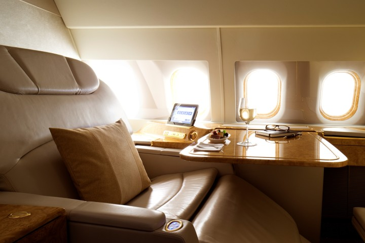 Emirates Airbus A319 Executive Jet