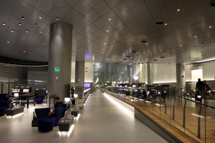 Qatar Airways Al Mourjan Business Class Lounge, Doha