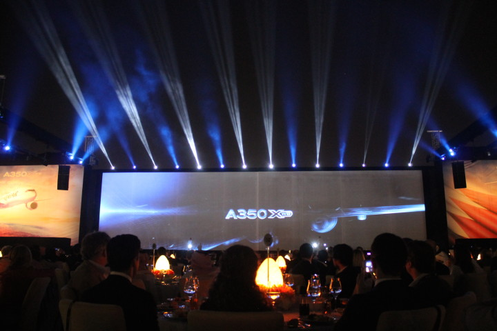 Inauguration ceremony of Qatar Airways first Airbus A350 XWB 06