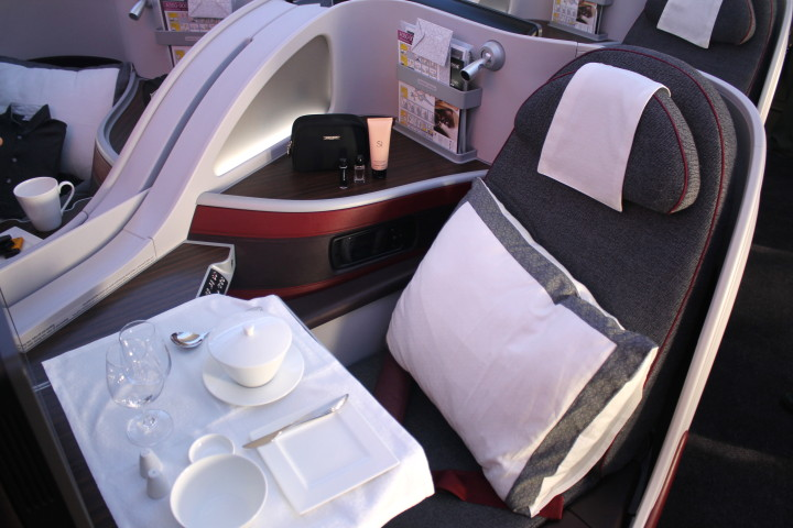 Qatar Airways Business Class Airbus A350