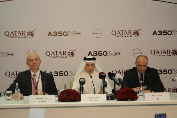 Qatar Airways CEO Akbar Al-Baker