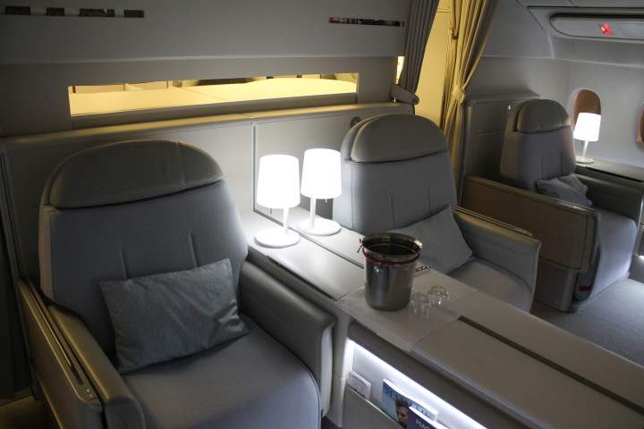 Air France First Class La Première Jakarta-Singapore