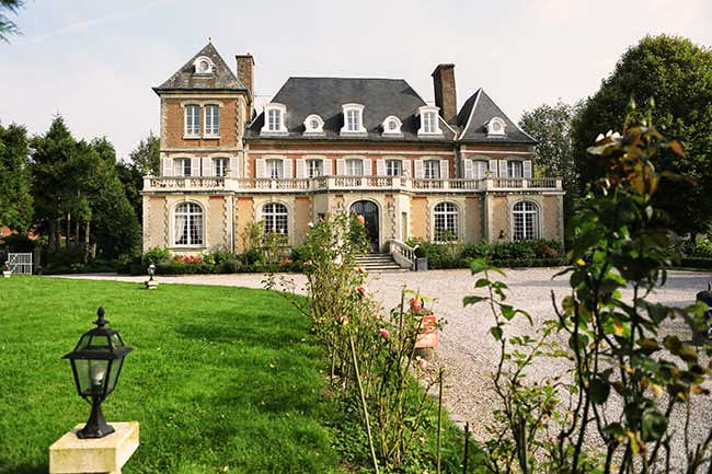 Historic Hotels of Europe - Château de Noyelles, Somme Bay, France