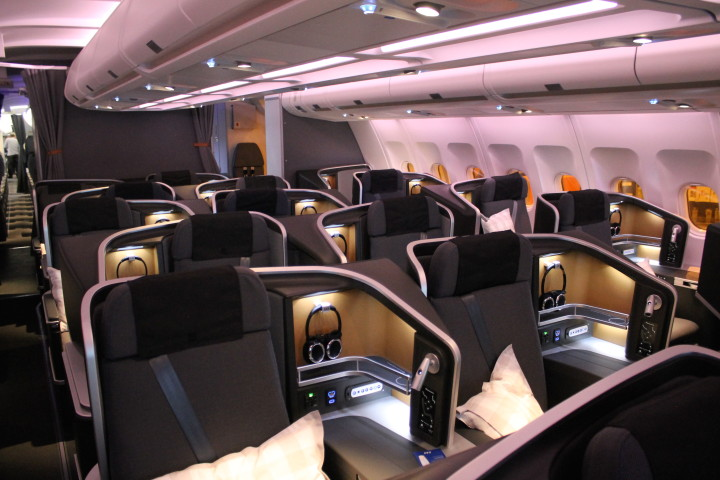 SAS nya business class på Airbus A330/Airbus A340