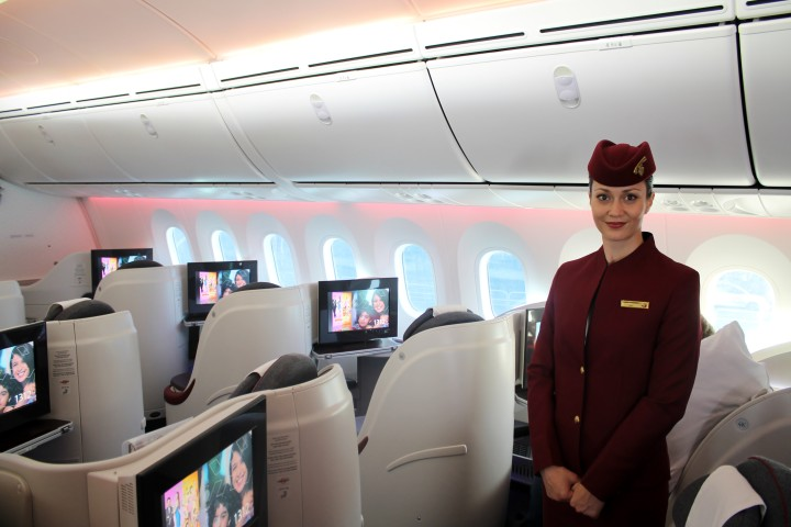 Qatar Airways Boeing 787 Dreamliner Business Class