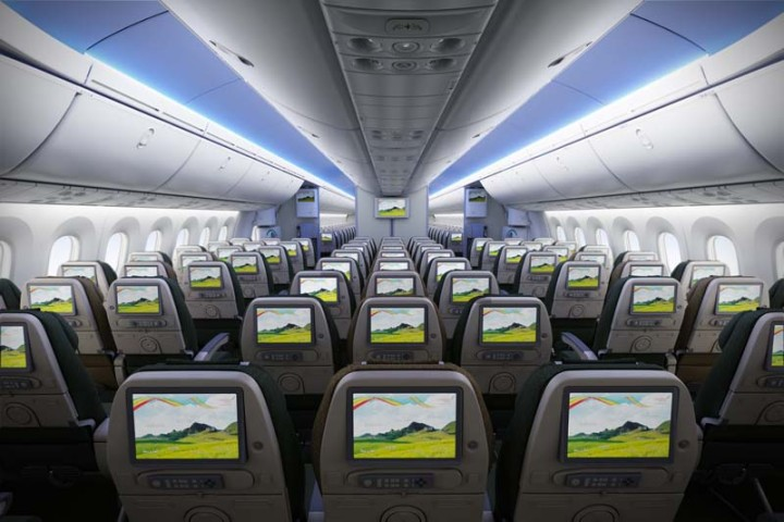 Ethiopian Airlines Boeing 787 Dreamliner Economy Class