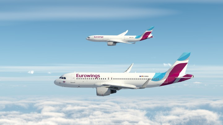 Eurowings Airbus A320 Airbus A330