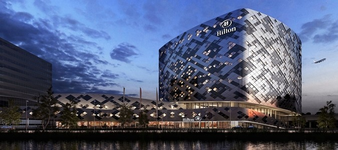 Hilton Amsterdam Airport Schiphol Hotel Exterior