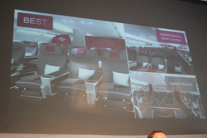 Eurowings longhaul products