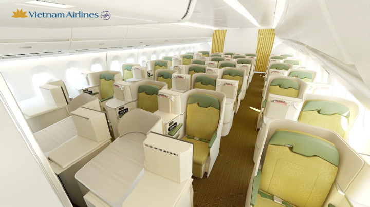 Vietnam Airlines Business Class Airbus A350