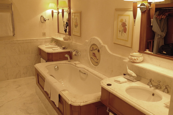 Hotel Splendido bathroom