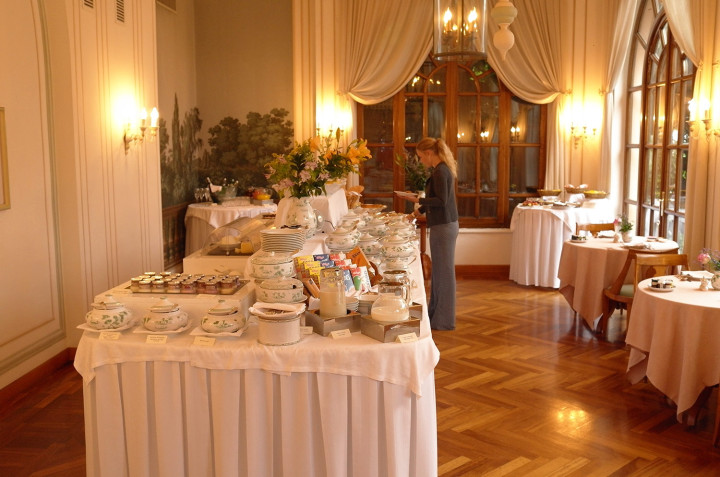 Hotel Splendido breakfastbuffet