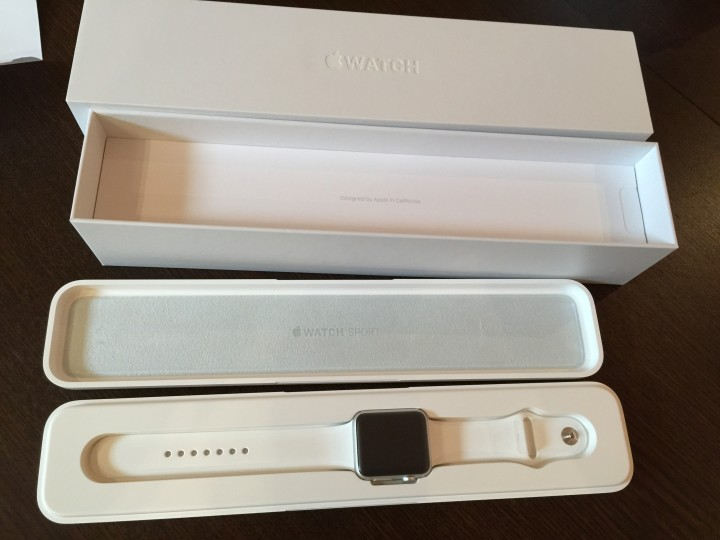 Apple Watch låda