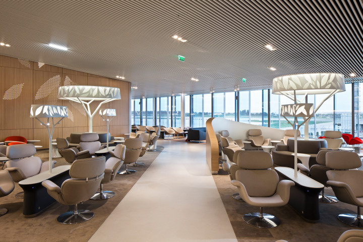 Air France Lounge Paris CDG Terminal 2E pier M