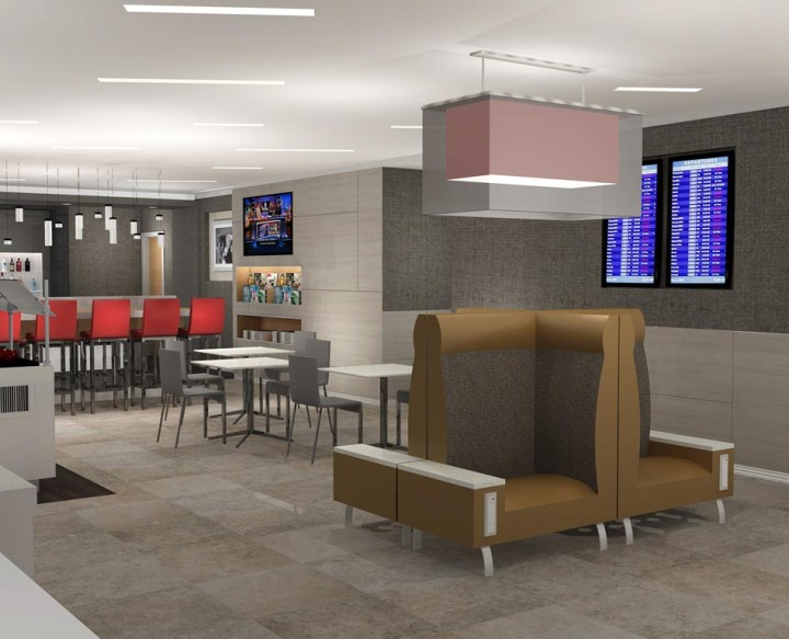 American Airlines Admirals Club new design