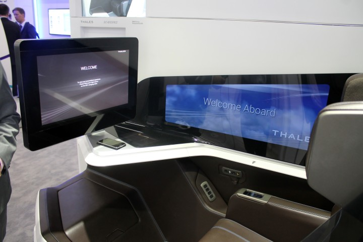 BE Aerospace and Thales Business Class Immersive Seat