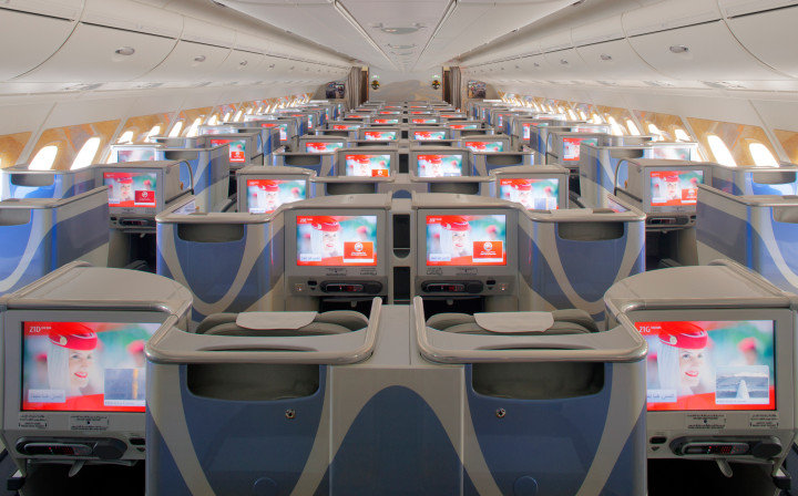 Emirates Business Class Airbus A380