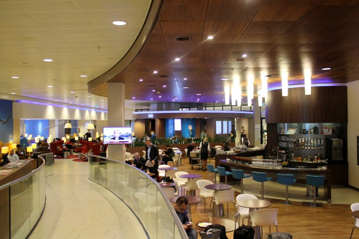 KLM Crown Lounge, Amsterdam Schiphol