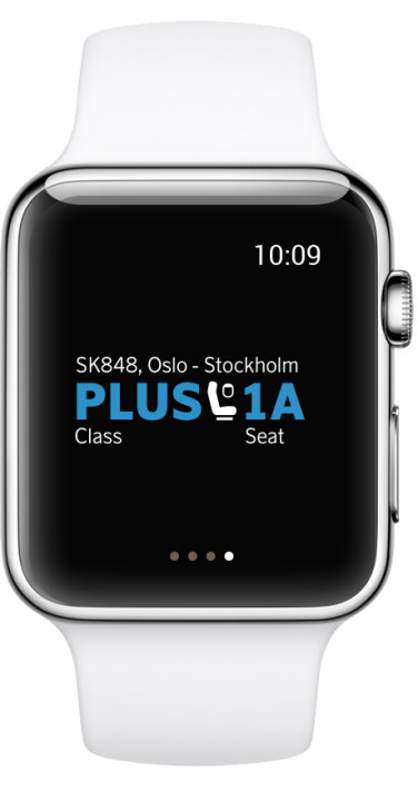 SAS app Apple Watch