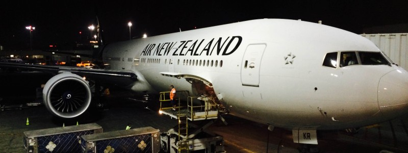 Air New Zealand Business Class Boeing 777 Los Angeles Auckland