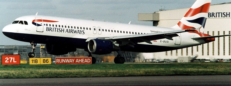 British Airways Airbus A320