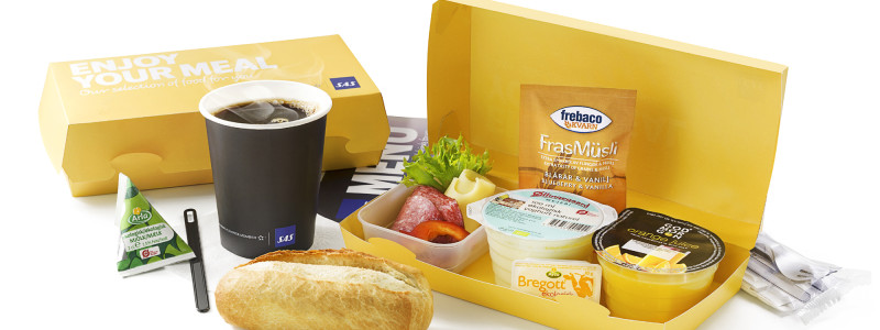 SAS breakfast box