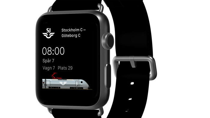 SJ Apple Watch App