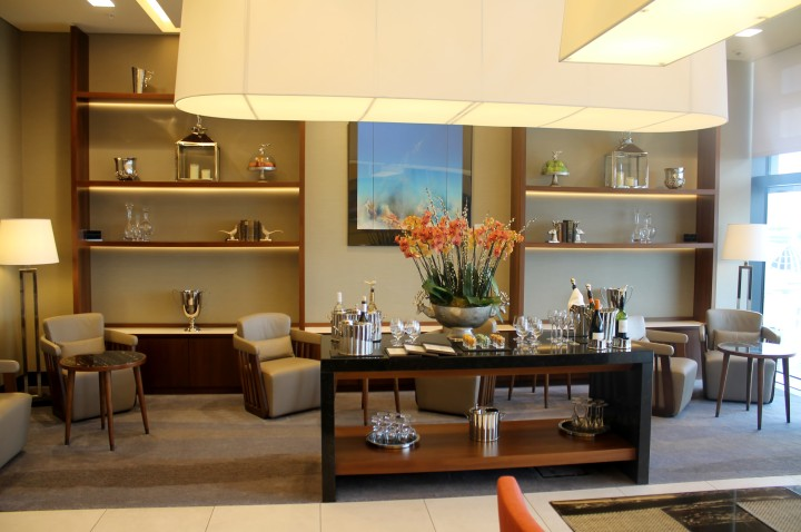 Singapore Airlines First Class Lounge, London Heathrow, Terminal 2