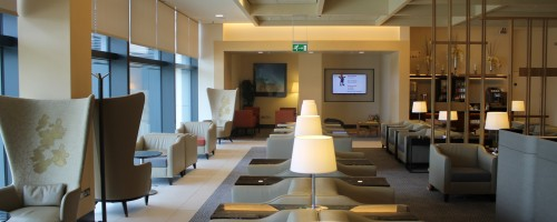 Singapore Airlines Silverkris Lounge, London Heathrow, Terminal 2