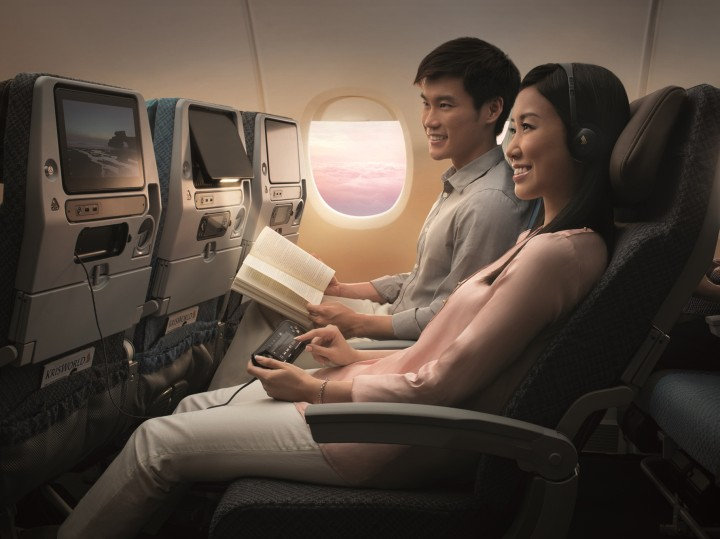 Singapore Airlines new economy class