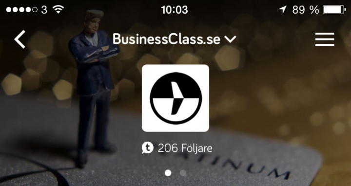 BusinessClass Tapatalk app