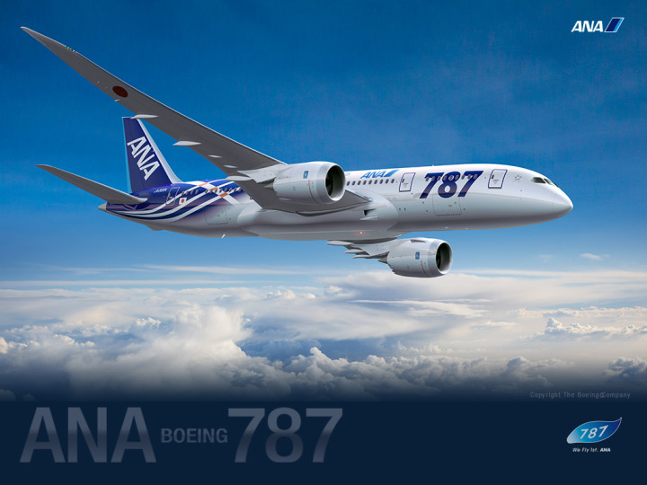 All Nippon Airways ANA Boeing 787 Dreamliner