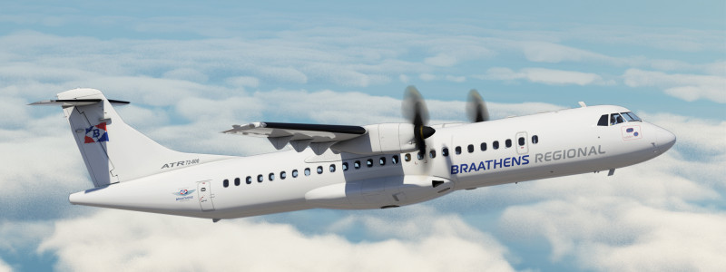 Braathens Aviation ATR 72-600
