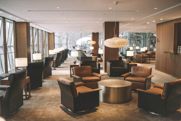 Cathay Pacific Lounge, Bangkok