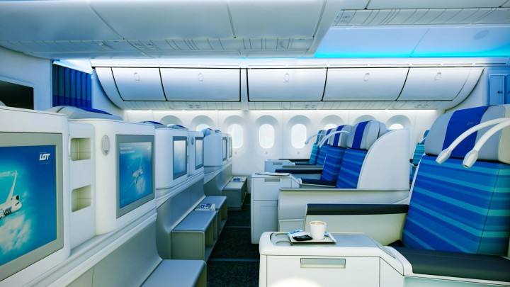 LOT Boeing 787 Dreamliner
