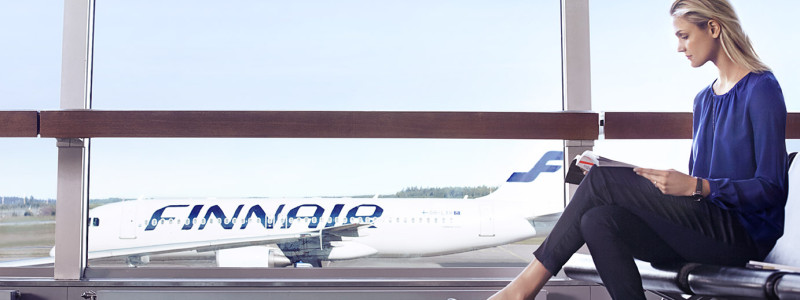 Finnair gate Airbus A320