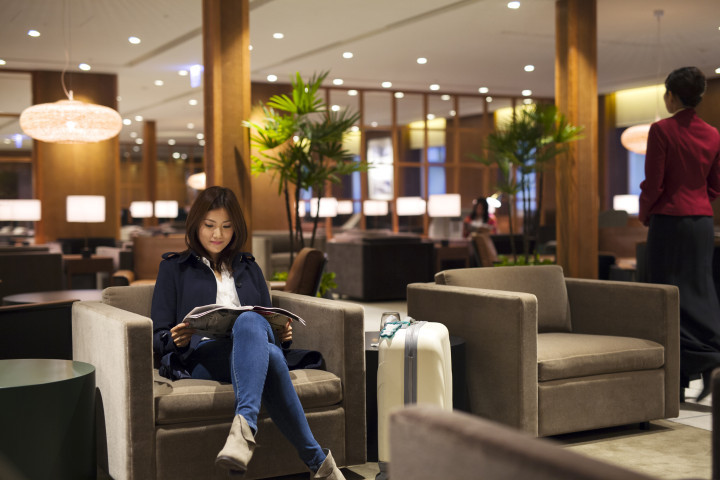 Cathay Pacific lounge Taiwan