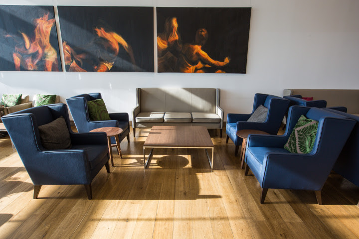 British Airways First Class lounge LHR