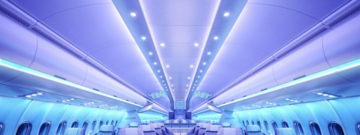 Airbus new cabin