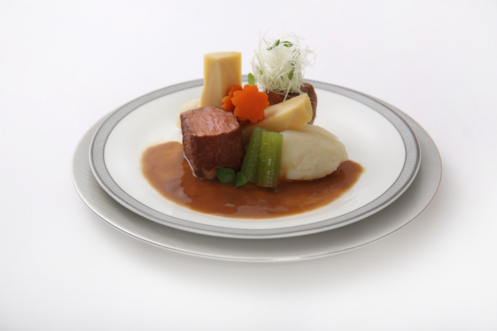 Sousvide Miso Simmered Beef Yamato-style with Nimono Vegetables and Potato - By ICP Chef Yoshiro Murata