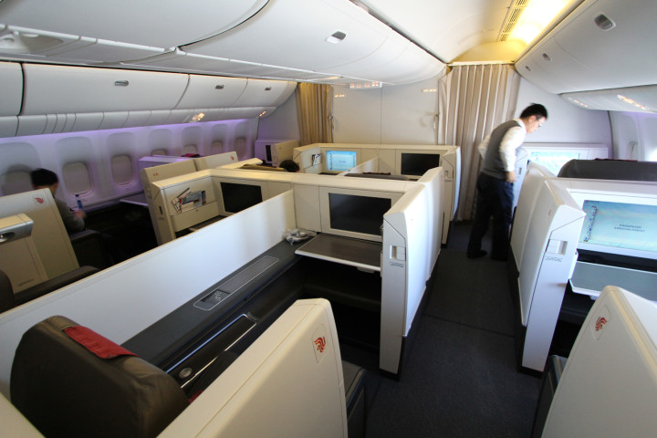 Air China First Class Frankfurt-Beijing – Första first-upplevelsen