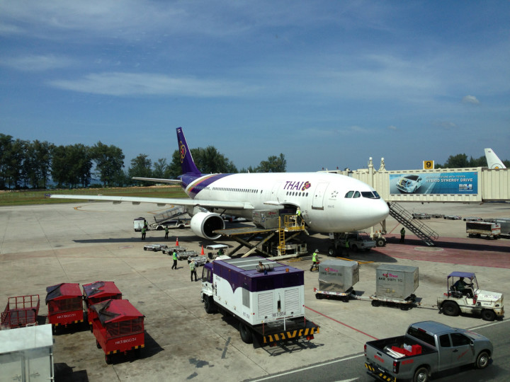 Bangkok till Phuket med Thai i Business Class